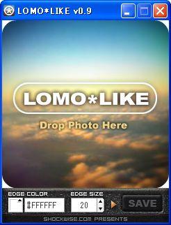 LOMO*LIKE メイン画面