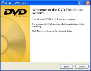DVD Flick �C���X�g�[��2